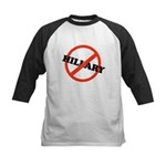 No Hillary Kids Baseball Jersey