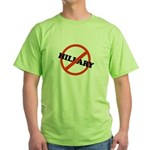 No Hillary Green T-Shirt