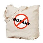 No Hillary Tote Bag