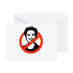 AntiHillary Greeting Cards (Pk of 20)