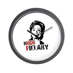 Anti-Hillary: Huck Fillary Wall Clock