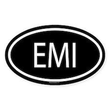 EMI Oval Decal