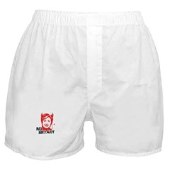 No Hillary Boxer Shorts