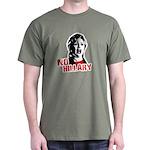No Hillary / Anti-Hillary Dark T-Shirt