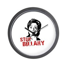 Anti-Hillary: Stop Billary Wall Clock