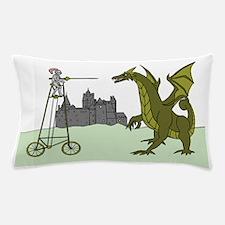Funny Biker art Pillow Case