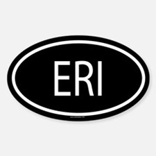 ERI Oval Bumper Stickers