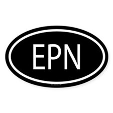 EPN Oval Decal