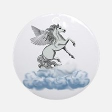 Pegasus Clouds Ornament (Round)