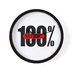100 Percent Natural Wall Clock