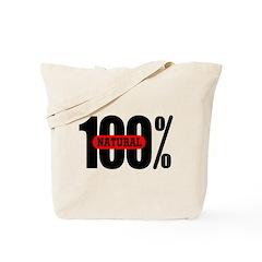 100 Percent Natural Tote Bag