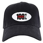 100 Percent Natural Black Cap