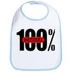 100 Percent Natural Bib