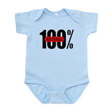 100 Percent Natural Infant Bodysuit