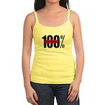 100 Percent Natural Jr. Spaghetti Tank