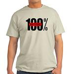 100 Percent Natural Light Colored T-Shirt
