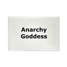 Anarchy Goddess Rectangle Magnet