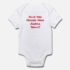 Have You Hugged Your Alexa? Infant Bodysuit