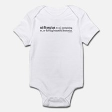 Callipygian Infant Bodysuit