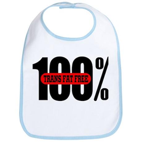 100 Percent Trans Fat Free Bib