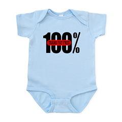 100 Percent Trans Fat Free Infant Bodysuit