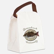 Bronzeback University Canvas Lunch Bag