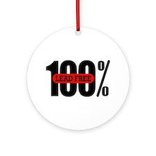 100 Percent Lead Free Ornament (Round)