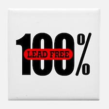 100 Percent Lead Free Tile Coaster