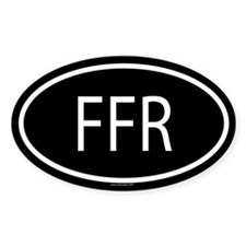 FFR Oval Decal