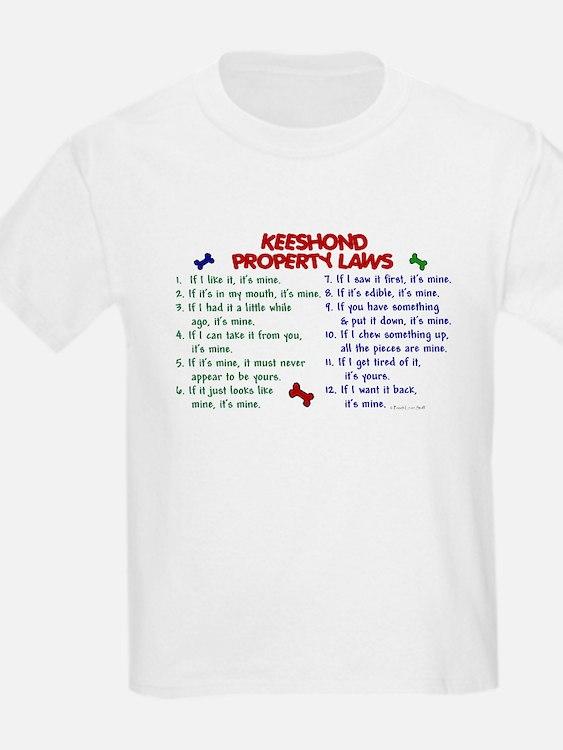 Keeshond Property Laws 2 T-Shirt
