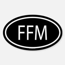 FFM Oval Decal