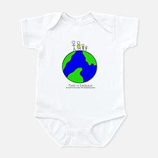 Funny Overpopulation Infant Bodysuit