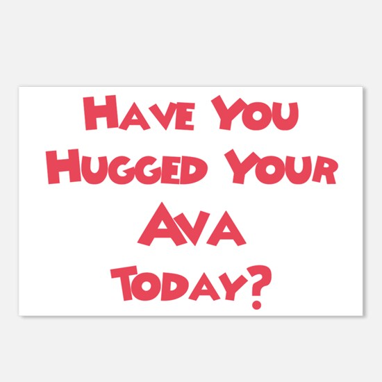 Have You Hugged Your Ava? Postcards (Package of 8)
