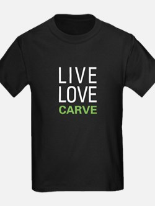Live Love Carve T