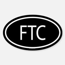 FTC Oval Decal