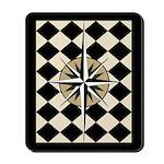 Black Compass Mousepad