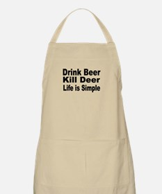 Life is Simple BBQ Apron