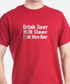 More Beer and Deer T-Shirt