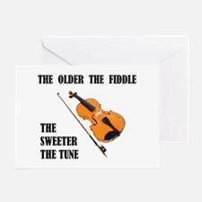 SWEET FIDDLE Greeting Card
