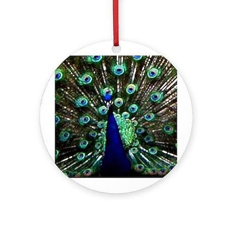 Peacock Keepsake (Round)