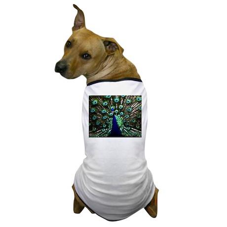 Peacock Dog T-Shirt