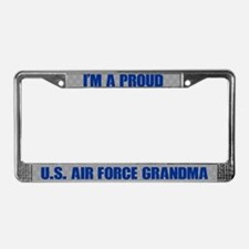 U.s. Air Force Grandma License Plate Frame