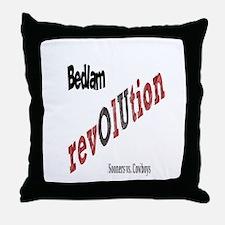 Bedlam Revolution Throw Pillow
