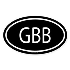 GBB Oval Decal