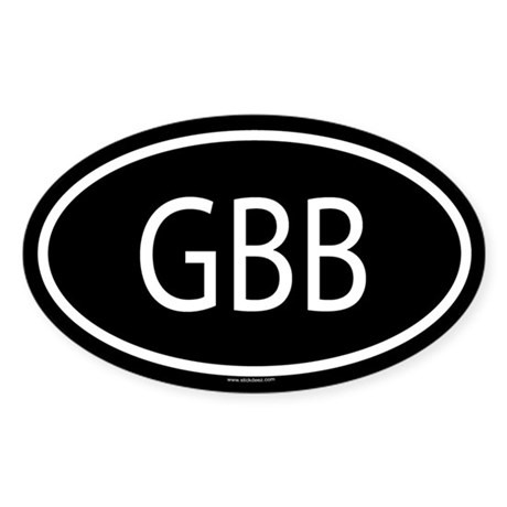 GBB Oval Sticker