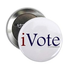 """iVote 2.25"""" Button (10 pack)"""