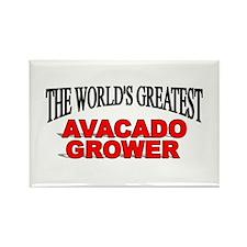 """The World's Greatest Avacado Grower"" Rectangle Ma"