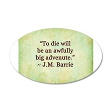 J.M. Barrie Quote Wall Decal