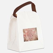 Dr. Seuss Quote Canvas Lunch Bag