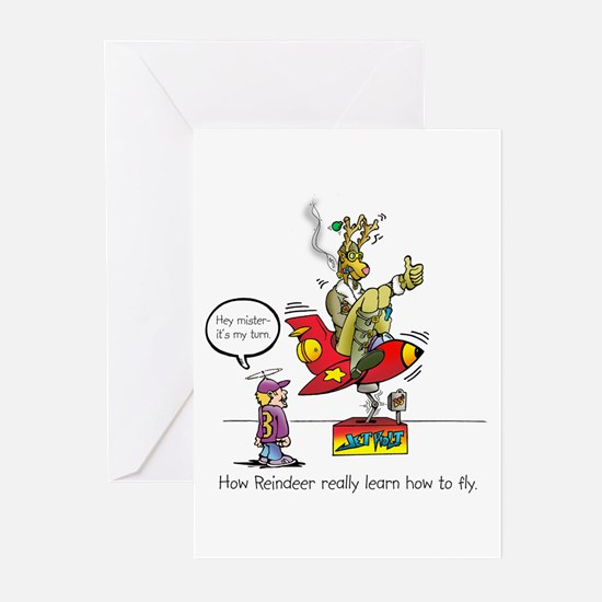 How Reindeer Really Learn How Greeting Cards (Pk o